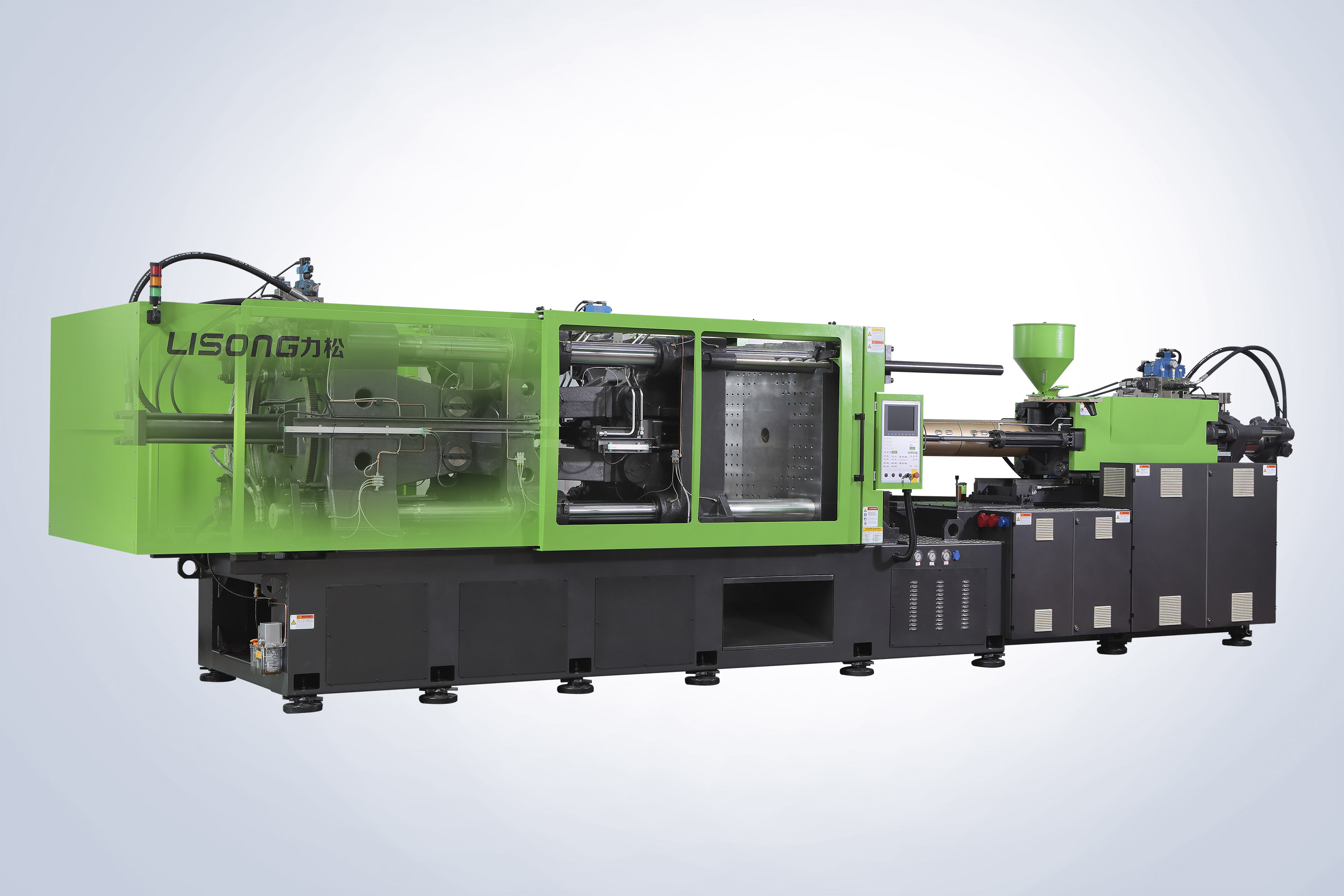 1500ML Round food box Injection molding machine